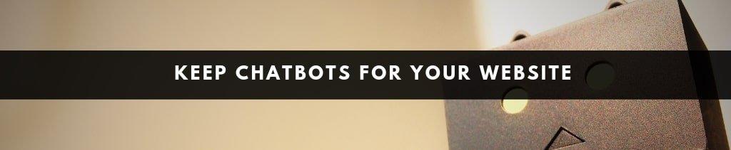 Website Design Ideas   chatbots for websites