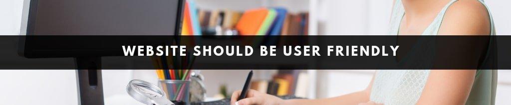 Website Design Ideas | user friendly website