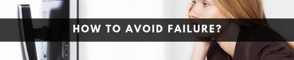 How can small businesses avoid failure   Why Businesses Fail