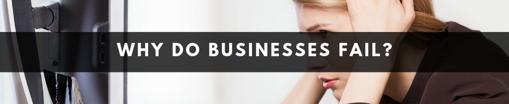 What are the main reasons why businesses fail